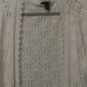 Really pretty crochet cardigan